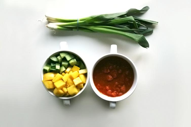 Vegetarische kikkererwtencurry met mango2