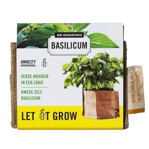cadeau-ideeën basilicum kweekset