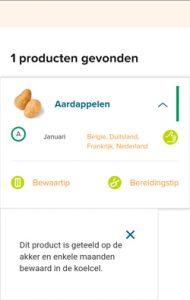groente- en fruitkalender uitleg