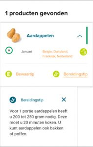 groente- en fruitkalender bereidingstip