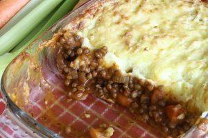 week zonder vlees met Gardener's pie