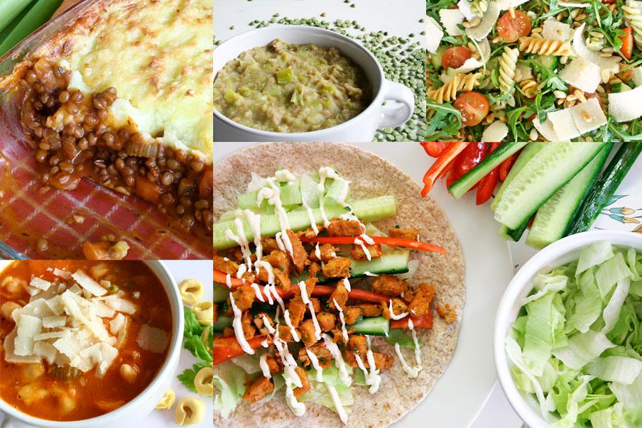 top 10 vegetarische recepten 2018