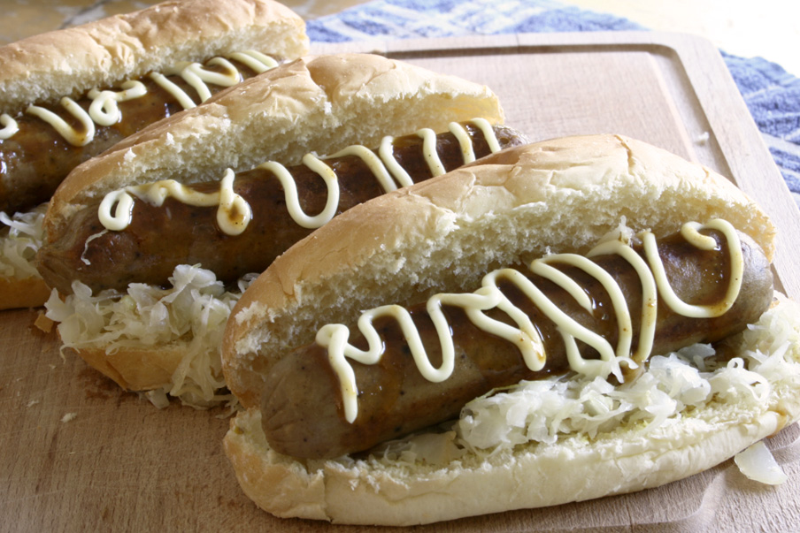 Vegetarische hotdog recept